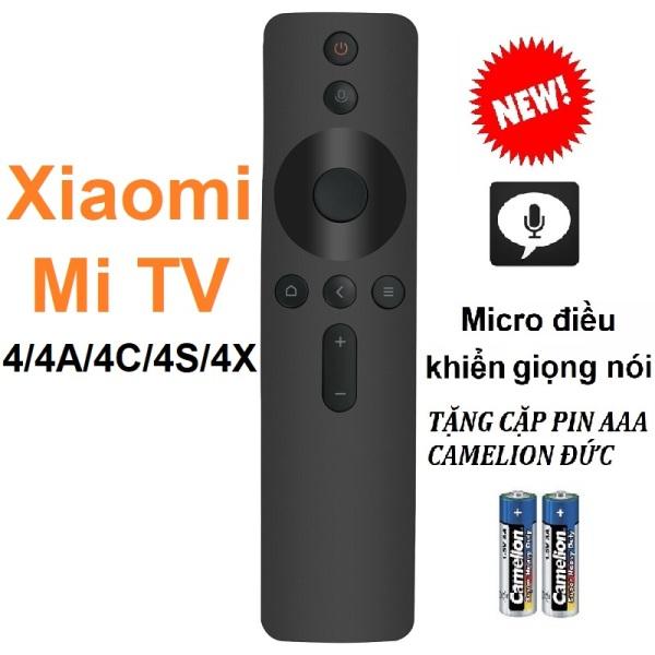 Remote điều khiển tivi XIAOMI Mi tv Mitv 4 4A 4C 4S 4X (Micro điều khiển giọng nói - Tặng pin)