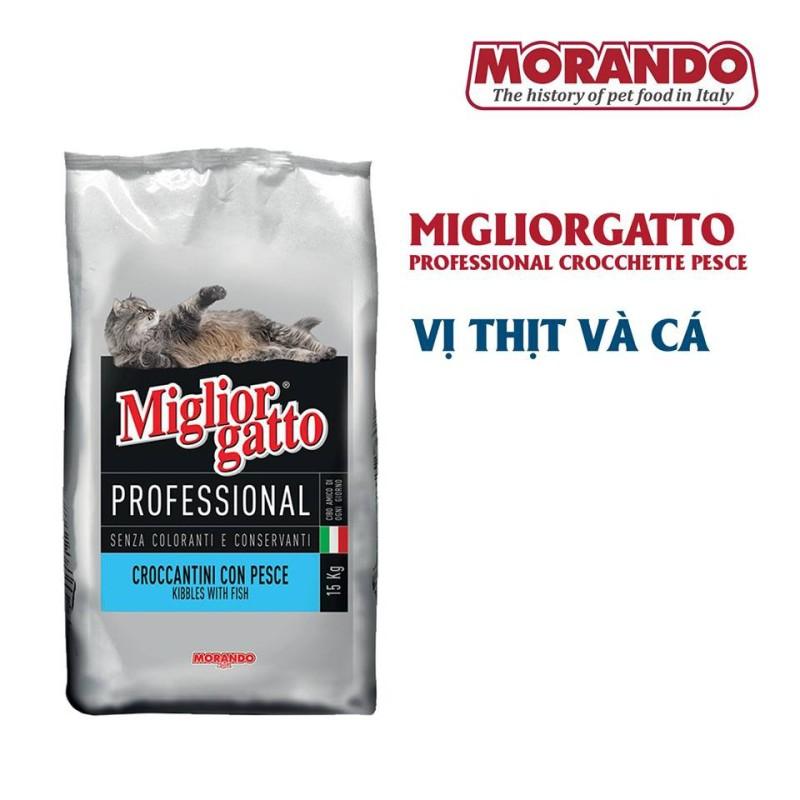 Hạt Morando Migliorgatto cho mèo 400g