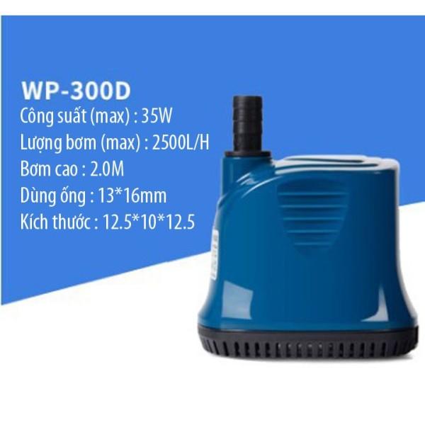 Bơm Hút Đáy 360 Độ Sobo WP-300D (35W - 2500Lit/H, đẩy cao 2 mét) - Máy Bơm Nước Cho Hồ Cá Cảnh