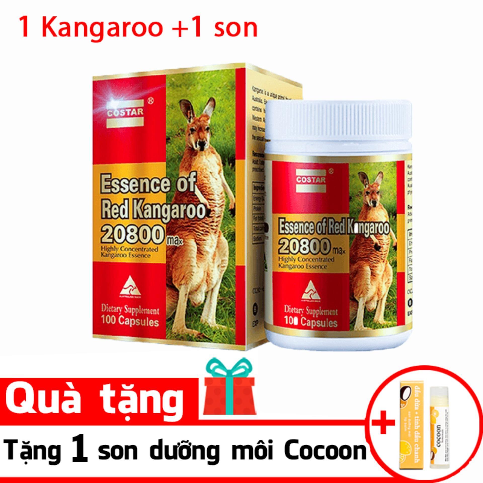 Essence of Red Kangaroo 20800 Max9 ( Tặng 1 son dưỡng) nhập khẩu