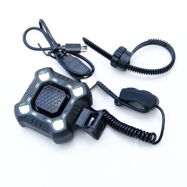 Còi xe + đèn xe đạp, sạc USB, còi kêu siêu to, nhiều kiểu