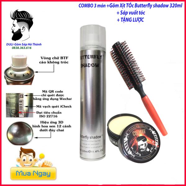 ⭐️Sáp vuốt tóc COLMAV Chính Hãng + GÔM XỊT TÓC giữ nếp tặng lược/ wax vuốt tóc/ keo vuốt tóc/ sap vuot toc/ wax/combo giá rẻ