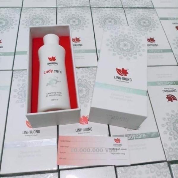 Gel vệ sinh phụ nữ Lady care Linh Hương 150ml giúp ngăn ngừa viêm nhiễm vùng kín với hương thơm dịu nhẹ giá rẻ