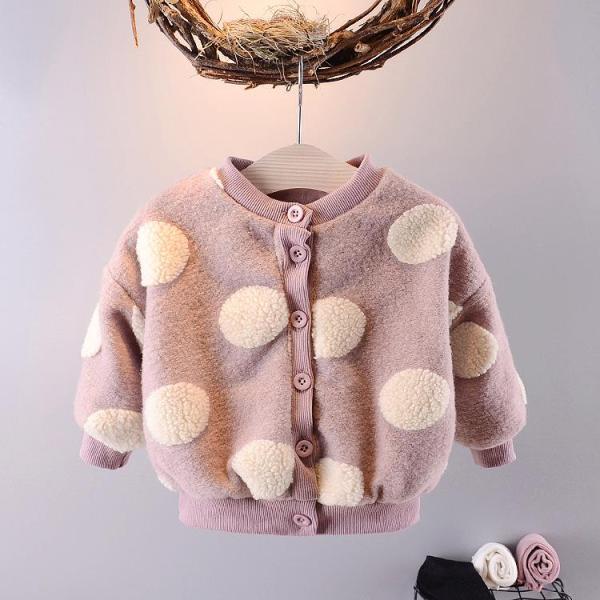 Giá bán áo khoác len lông ấm áp bé gái size 8-17kg