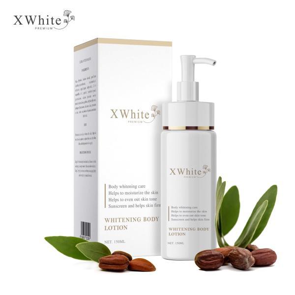 Kem body dưỡng trắng an toàn Xwhite được chuyên gia da liễu khuyên dùng 150ml - Whitening Body Lotion