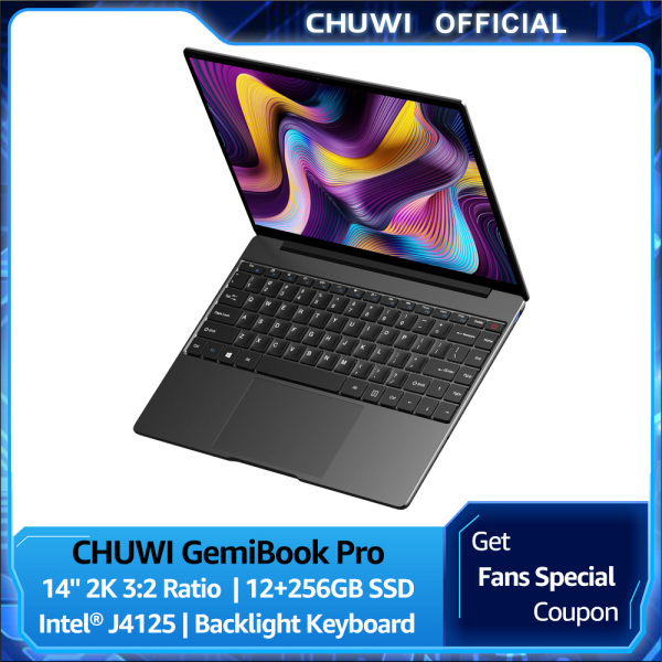 Bảng giá CHUWI Official GemiBook Pro 14 Inch Windows 10 Laptop   2160*1440 3:2 Ratio Screen   Intel J4125 cpu   LPDDR4X 12GB+256GB SSD   1 Year Warranty CHUWI Laptop Phong Vũ