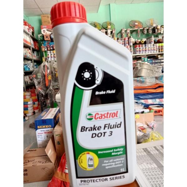 Dầu Thắng Castrol ô tô Brake Fluid DOT 4 [ ảnh Thật ] [ shop tự chụp