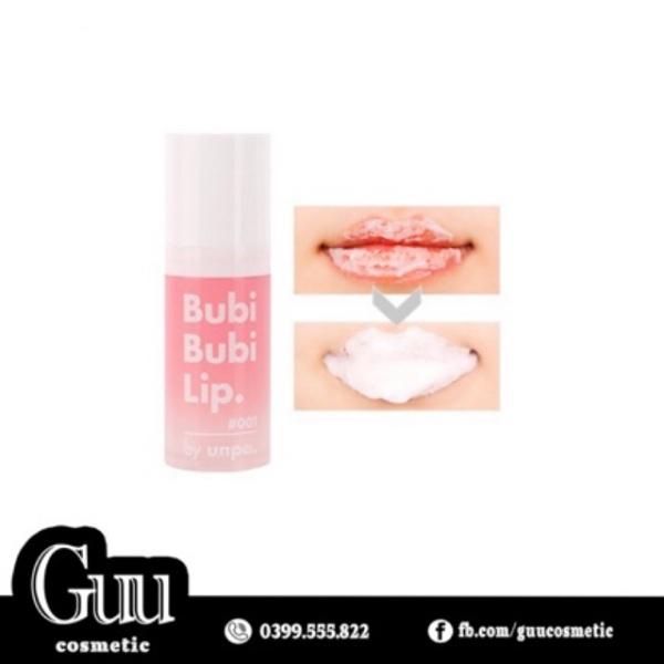 Tẩy da chết môi sủi bọt Bubi Bubi Lip - Guu