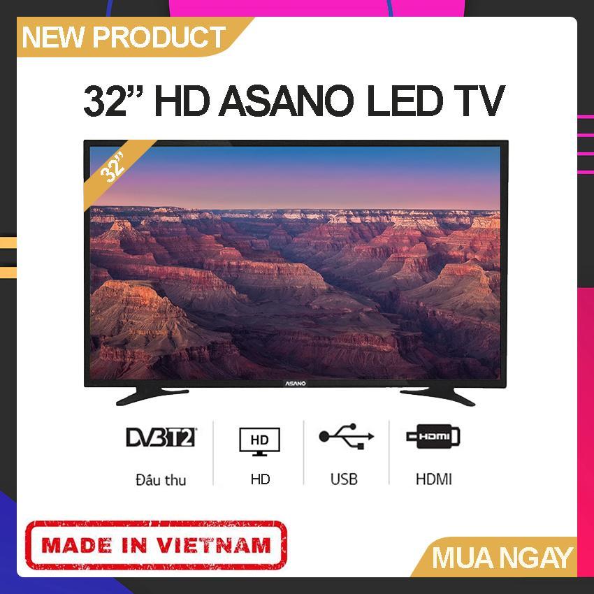 Bảng giá Tivi Led Asano 32 inch HD - Model 32EK1 (HD Ready, Tích hợp DVB-T2) - Bảo Hành 2 Năm
