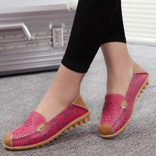 Giày Đế Bằng Ba Lê Giày Lười Nữ Mùa Hè Da Thật Giày Lười Nữ, Giày Hoa ĐẬU HÀ LAN Thường Ngày