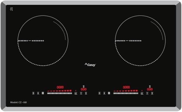 Bếp từ đôi cao cấp Canzy CZ-08I Công nghệ Inverter