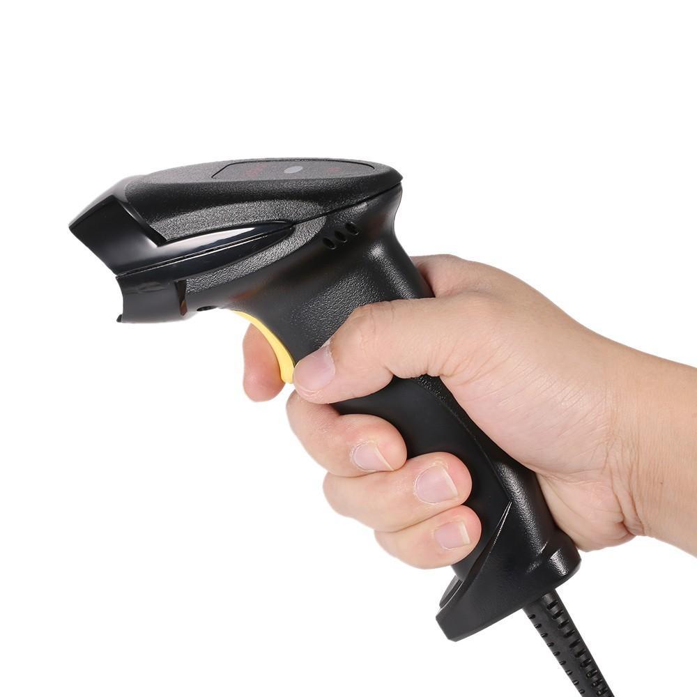 Giá Máy đọc quét mã vạch Barcode YHD 8200 - 1D có dây sử dụng cổng usb hiệu suất cao, sử dụng trong quản lý đơn hàng, dán mincode, kiểm tra tồn kho, máy nhỏ gọn, quét bằng mắt laser, tốc độ quét nhanh