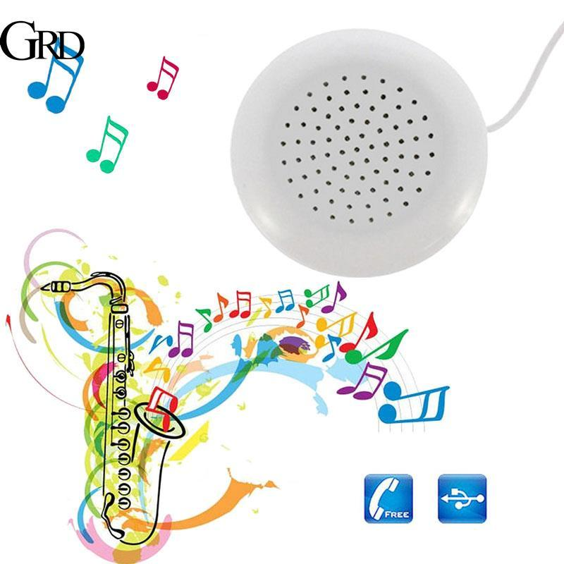 Grand Mini 3.5mm Speaker Phone Stereo Mp3 Loudspeaker By Grand Store.