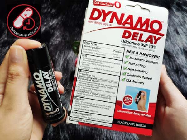 Chai xịt nam giới dynamodelay usa , nhập khẩu , chai 15ml .