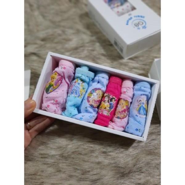 Giá bán Hộp 6 Quần Chip Tam Giác Trẻ Em Cute