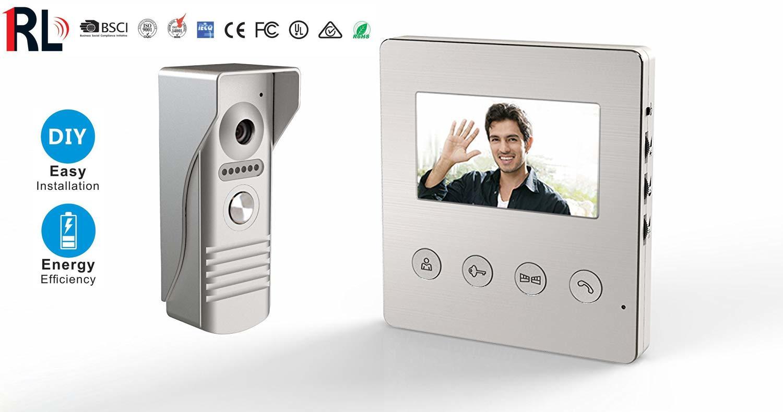 (RL-A043F) Bộ chuông cửa có màn hình RL
