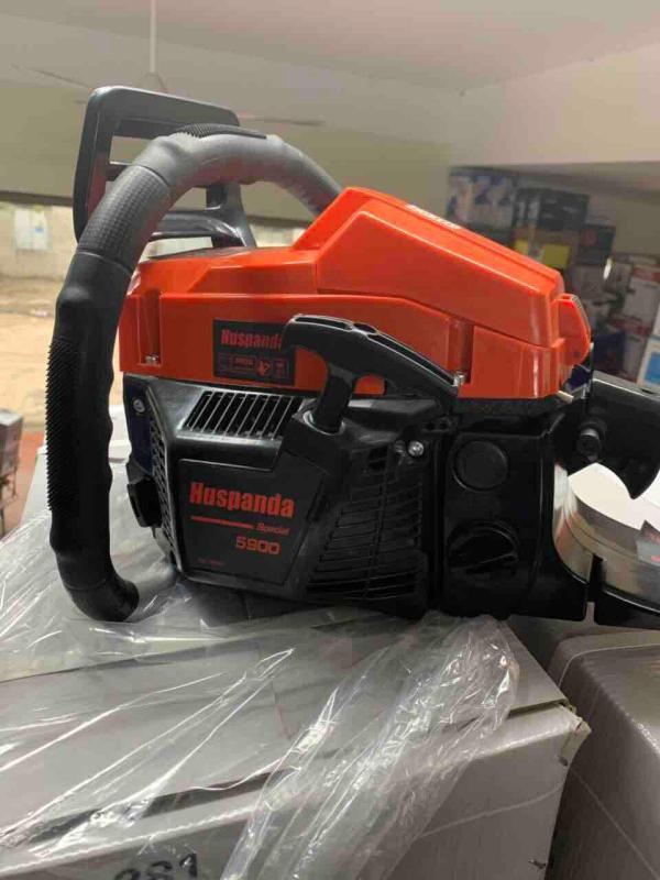 Đầu máy cưa xăng 5900 Huspanda xịn không lam xích
