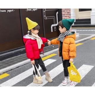 Áo phao 3 lớp dành cho bé trai và bé gái. Thiết kế giản dị, ấm áp thumbnail
