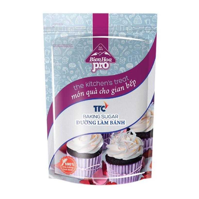 Đường xay làm bánh BIÊN HÒA Pro Baking sugar 1kg (halal)