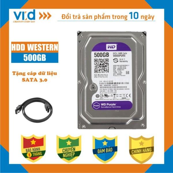 Bảng giá Ổ cứng HDD PC 500GB 320GB, 250GB, Western , Seagae-Tặng cáp Sata 3.0-Hàng nhập khẩu tháo máy đồng bộ - bảo hành 1 tháng Phong Vũ