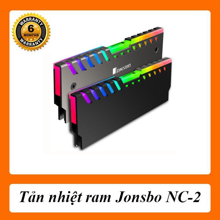 [Combo 2 Chiếc] [Full Box] Tản Nhiệt Ram Jonsbo RGB NC-2
