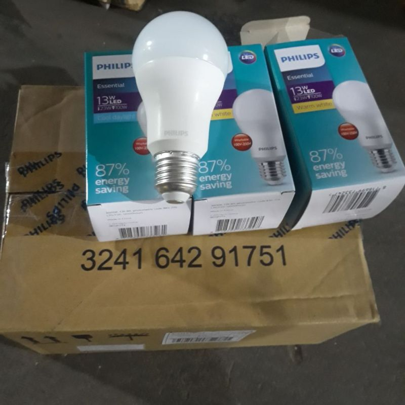 Bóng đèn led bulb Essential 13w E27 Philips