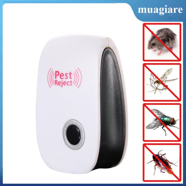 Máy Xua Đuổi Chuột, Muỗi, Gián, Kiến, Côn trùng bằng sóng siêu âm Pest Reject