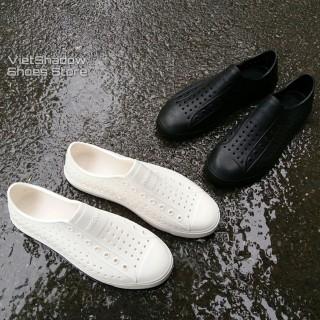 Giày đuc lỗ đi mưa -đi biển - đi chơi - siêu nhẹ siêu êm 2