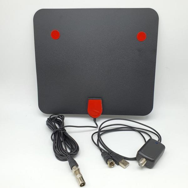 DÀN ANTEN vuông dẹt - TV kỹ thuật số trong nhà, ăng ten truyền hình miễn phí cho TV kỹ thuật số DVB-T2