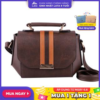 Túi đeo chéo nữ thời trang LATA HN58 da tổng hợp, không bong tróc và không thấm nước, lót nhung cao cấp, bảo hành trọn đời, kích thước 22x8x17cm thumbnail