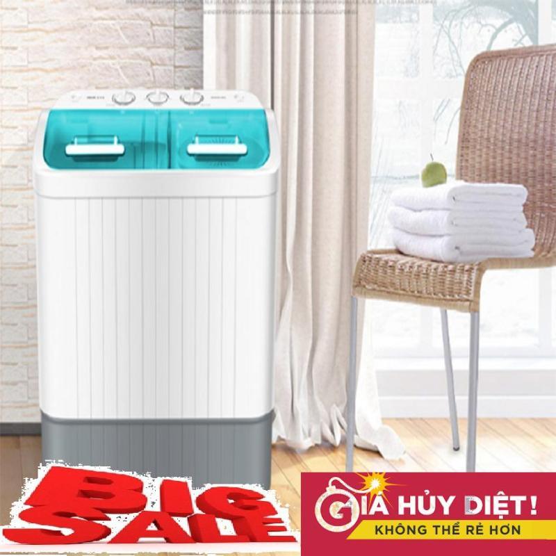 Bảng giá Máy giăt mini AUX 2 lồng giặt XPB56-98H, 5.6kg đồ, máy giặt mini Điện máy Pico