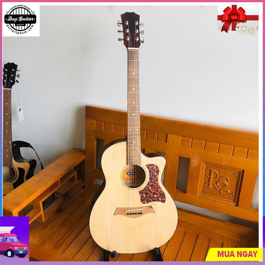 Đàn Guitar Acoustic DG101T đàn ghi-ta đệm hát mẫu mới của Duy Guitar Store - Có clip test âm thanh
