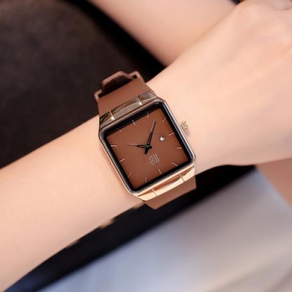 Đồng hồ Nữ GUOU 8161 Dây Mềm Mại đeo rất êm tay - Kiểu Dáng Apple Watch Chống nước tốt bán chạy