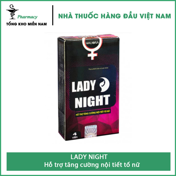 Combo Mua 2 tặng ngay 1 - Viên Ngậm LADY NIGHT - hỗ trợ tăng cường nội tiết tố nữ - Hộp 8 viên – Tổng Kho MiềnNam cao cấp