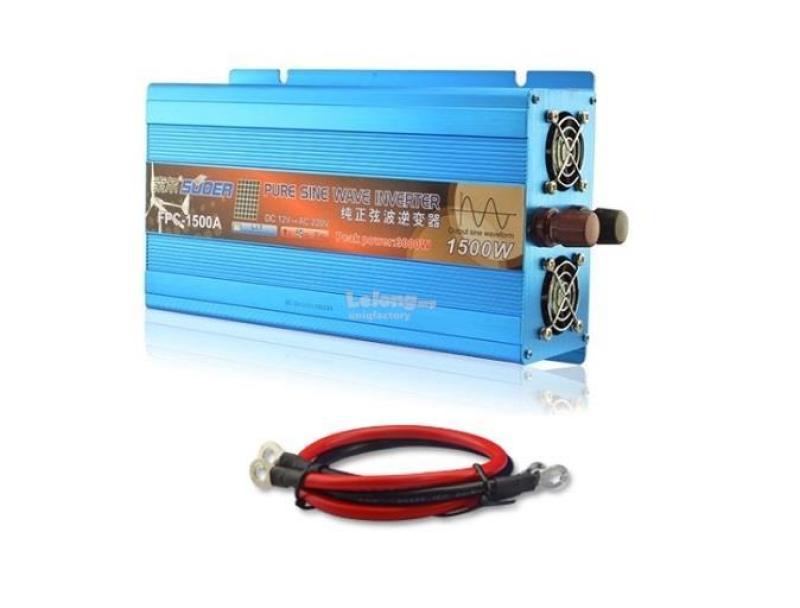 Bảng giá Bộ Kích Điện Inverter Pure Sine Wave 12V 220V 1000W FPC-1000A Phong Vũ
