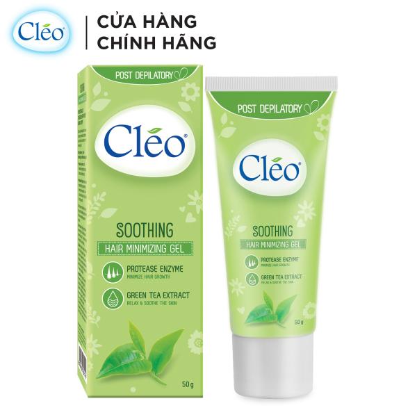 Gel làm dịu da sau tẩy lông Cléo - giúp chậm mọc lông 50g