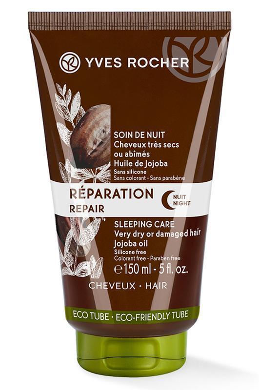 Mặt nạ ủ dành cho tóc YVES ROCHER REGENERATING SLEEPING PACK 150ML nhập khẩu