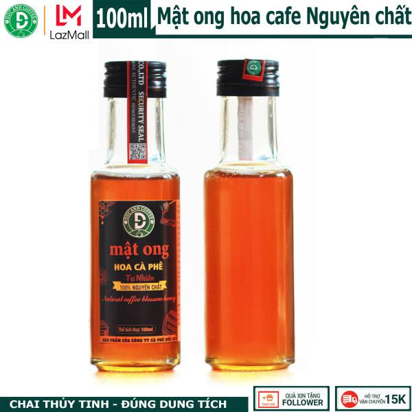 Chai 100ML Mật ong nguyên chất hoa, chai thủy tinh tiện dụng thương hiệu DUC ANH COFFEE của công ty cà phê Đức Anh