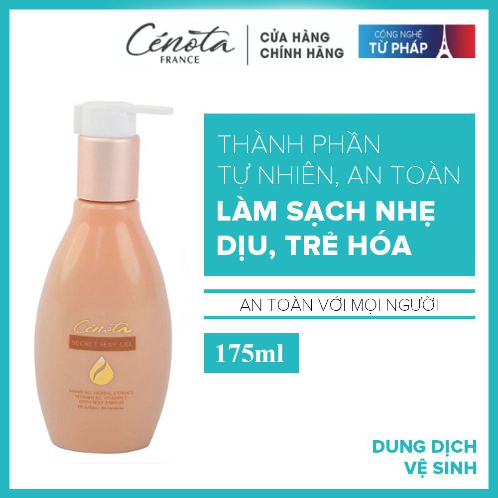 [ Mua 1 tặng 1 gói dung dịch ] Dung dịch vệ sinh phụ nữ Cénota bí quyết làm hồng, thơm, khít vùng kín