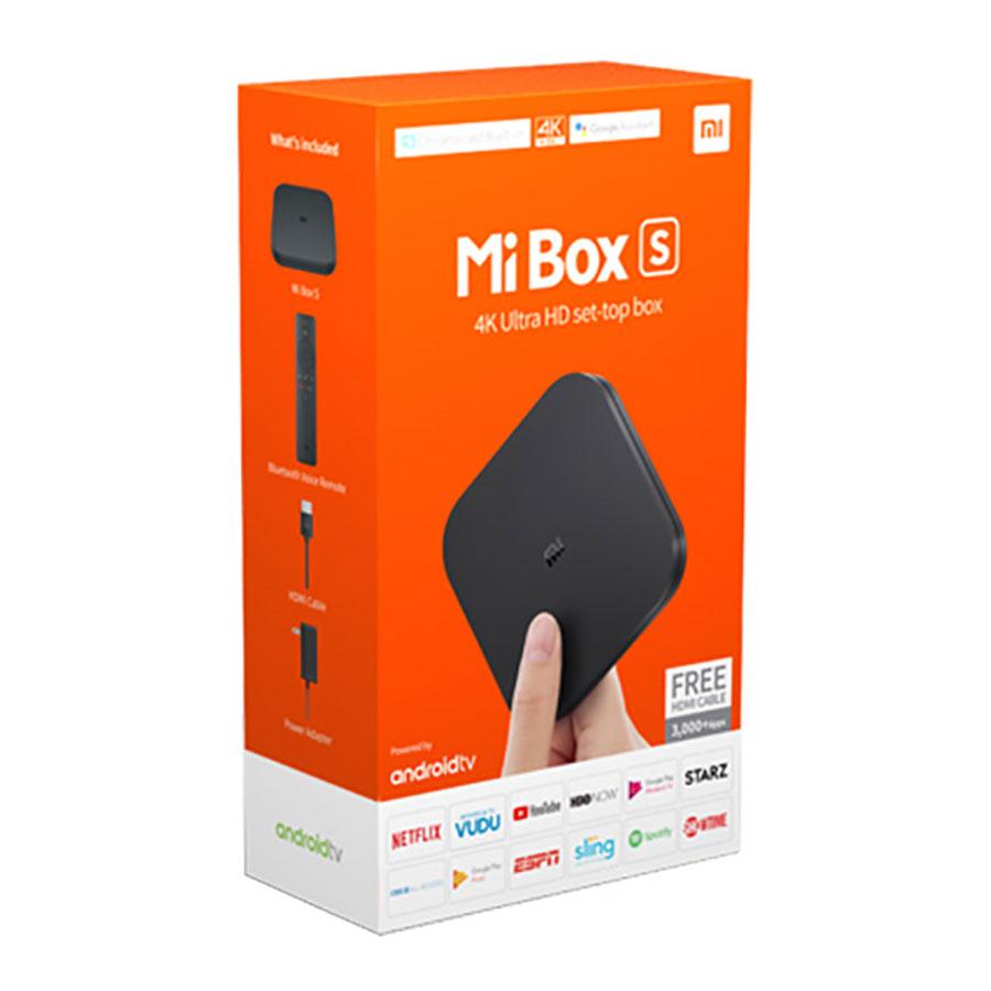Android Tivi Box Xiaomi Mibox S 4K Bản Quốc Tế (Android 8.1) - Bảo Hành 6 Tháng Đang Ưu Đãi Cực Đã