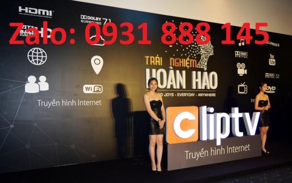 Bảng giá Cliptv Gói gia đình chính chủ 1 năm - Không xem được 1 số kênh quốc tế và K+ Điện máy Pico