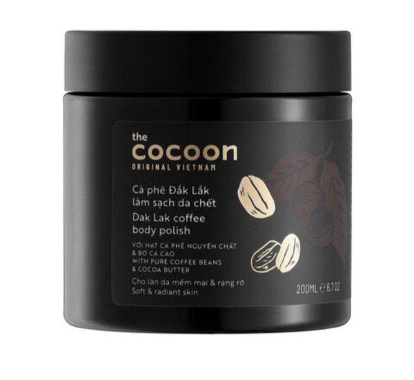 Cà Phê Đắk Lắk Tẩy Da Chết Toàn Thân CocoonDak Lak Coffee Body Polish200ml