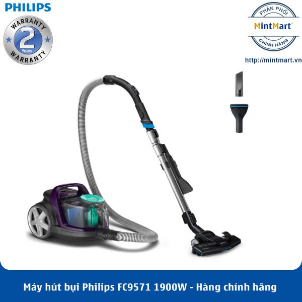 Máy hút bụi Philips FC9571 1900W - Hàng Chính Hãng - Bảo Hành 2 Năm Toàn Quốc