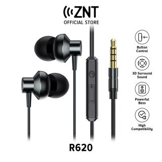 [Hot deal] Tai nghe có dây ZNT R620 Tai nghe nhét tai - Jack cắm 3.5 mm - chất lượng cao - có micrô đi kèm thumbnail