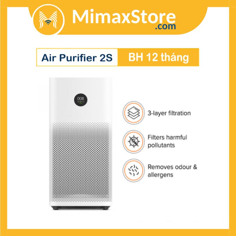 Máy Lọc Không Khí Xiaomi 2S - Mi Air Purifier 2S Global | Hàng Chính Hãng | Phiên Bản Quốc Tế