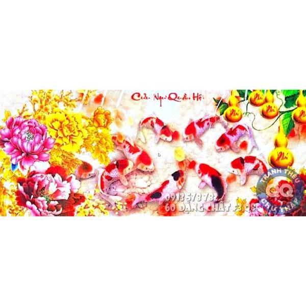 [HCM]200x90cm TRANH ĐÁ CỬU NGƯ QUẦN HỘI CHƯA LÀM LV545 LV546 VS24 VS245 VS246 LV3409 LV3410 LG1969 Y8223 Y8224 Y8225