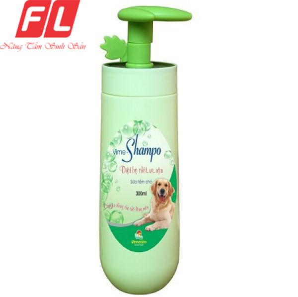 Sữa tắm trị ve chó mèo Vime Shampo (LÔNG MÀU)