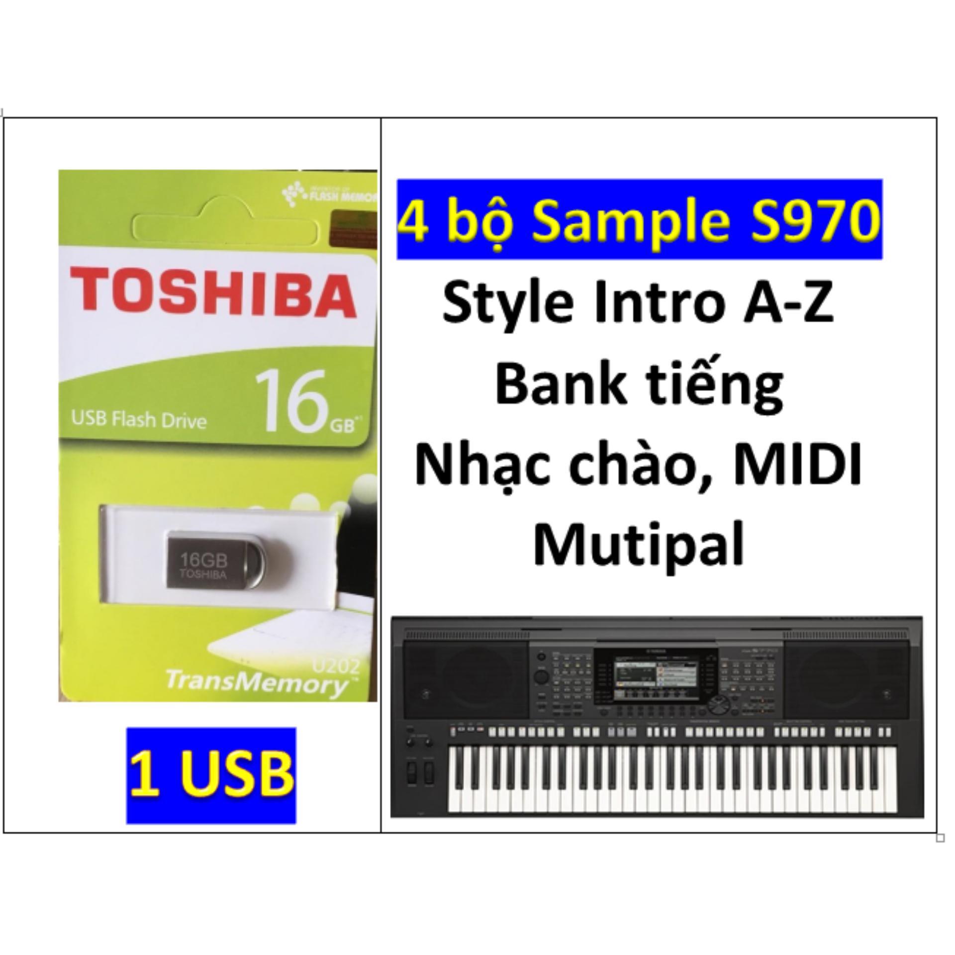 USB mini Sample đàn organ yamaha PSR-S970, Style, nhạc chào, songbook, midi + Full dữ liệu làm show