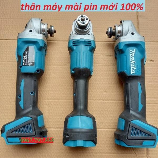 Thân máy mài cầm tay pin MAKITA KHÔNG CHỔI THAN, 100% DÂY ĐỒNG ( lắp vừa pin Makita,Hitachi,Ken,Dewalt)