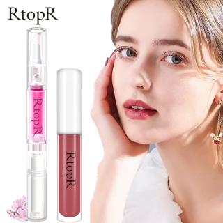 RtopR Tinh chất giữ ẩm và giảm nếp nhăn cho môi Cherry Blossom 3ml + Son kem lì RtopR dưỡng ẩm bền màu lên màu chuẩn chống thấm nướ thumbnail